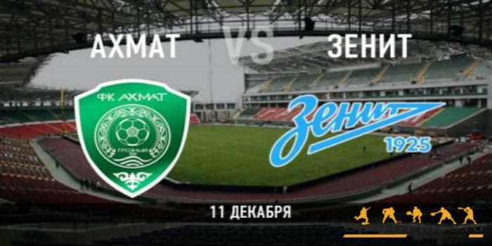 «Ахмат» и«Зенит» сыграли вничью вматче чемпионата РФ