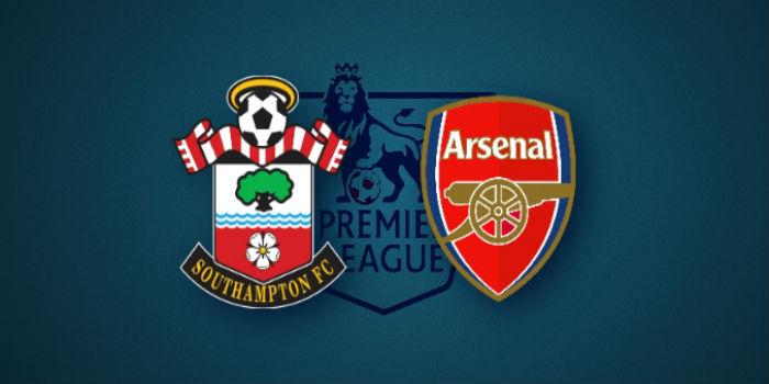 «Арсенал» обыграл навыезде «Саутгемптон»