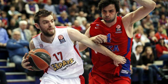 Евролига. Вчетвертьфинале ЦСКА, скорее всего, сыграет с«Басконией»